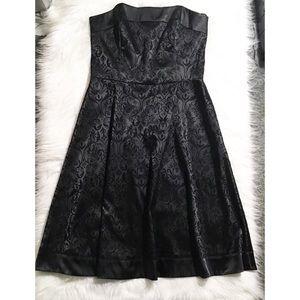 Plus size strapless WHBM dress